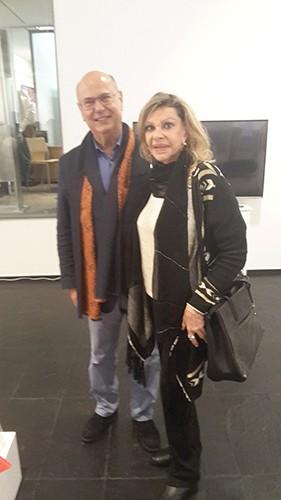 Liane con Juan Kreisler